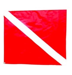 Red flag for boat (Fox)
