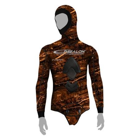 Brown fusion jacket
