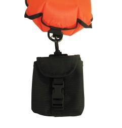 Leads pocket (beacon buoy)