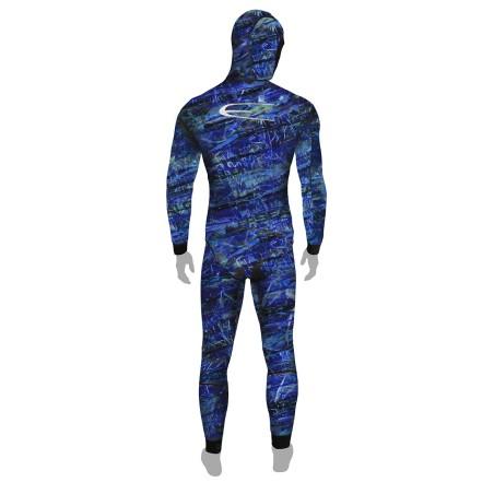 Blue fusion pant
