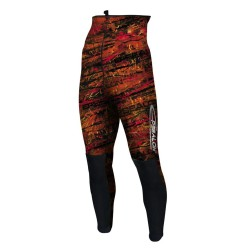 Red fusion pant