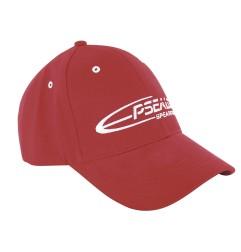 Baseball red cap