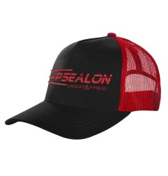Fisher Black & Red cap