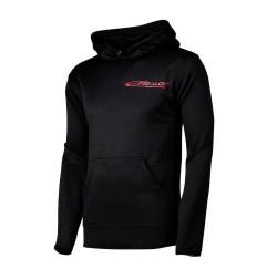 Technical hooded sweatshirt
