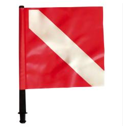 Drapeau rouge pour bouée (Fox)